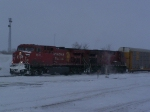 CP 8578 Blows Through the Snow