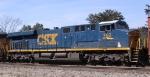CSX 762 trails 803 on train Q463