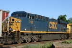 CSX 768 crosses Maple Junction 