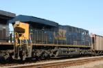 CSX 915 trails unit 282 on train N193