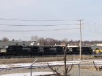 Norfolk Southern 9858, 9507, and 8941