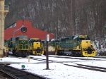 Reading and Northern 5017, 2004, 5014, and 3051