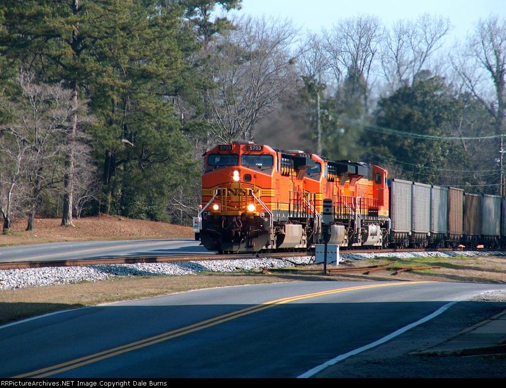NS 733 MTY Coal Train