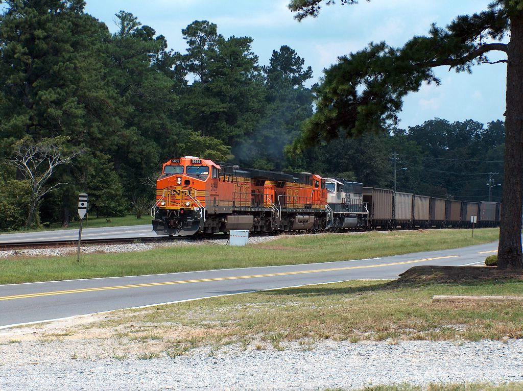 NS 733 Empty Coal Train