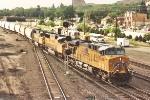 Eastbound unit hopper train