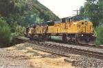 Eastbound unit grain train