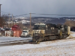 Norfolk Southern 7599 and 7719