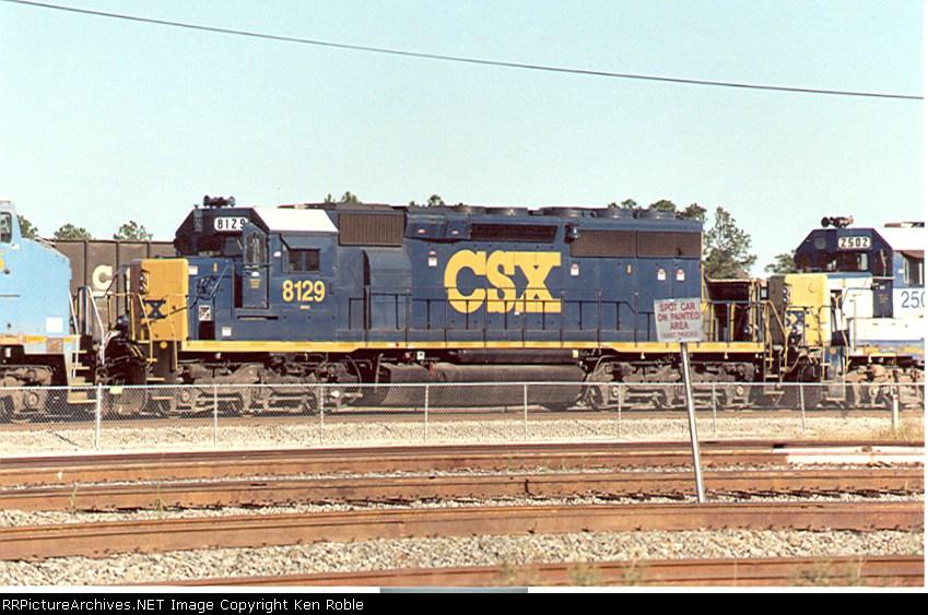 CSX 8129 YN3 (ex-CRR)
