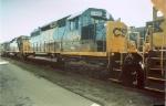 CSX 8388 YN3 (ex-C&O)