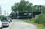 NS 2592 leads a train on the IHB