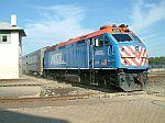 Metra 206 brings in a commuter train