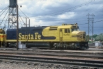 One of the Ex AMT SDP40F's now at ATSF