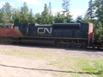 CN Switching Partridge Yard