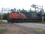 CN Crossing M-35 South