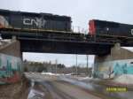 CN Crossing Above Lakeshore Drive