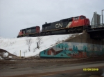CN Enters The Elucid Yard