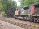 CN Heads Into The Rockcut