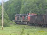 CN Heads Into The Yard