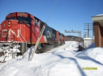 CN On a nice Winter Day