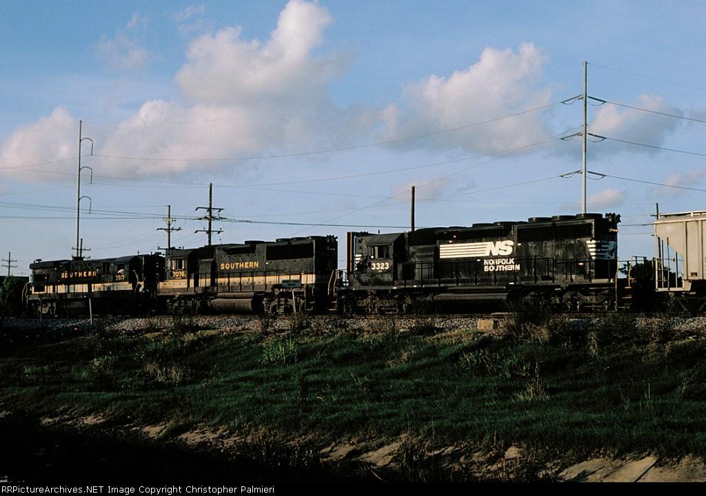 SOU 3517, SOU 7076, and NS 3323
