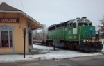 Passing the South Charleston depot