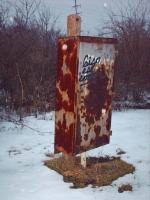 Erie Signal box at Glen Echo