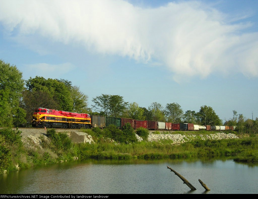 KCS 4685 On NS 144 Westbound