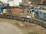 Last C30-7 in FLS paint dead at WX Recycling