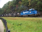 Norfolk Southern 3375, 3352, 9154, and 6586 at Horseshoe Curve