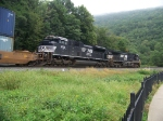 Norfolk Southern 9846 and 2721 at Horseshoe Curve