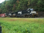 Norfolk Southern 9347 and 9875 at Horseshoe Curve