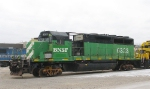 Stripped BNSF SD40