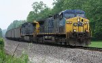 CSX loaded coal train