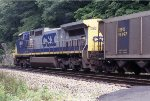 CSX 7813 pusher of the day