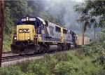 NB freight on the siding