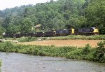 SB loaded coal train