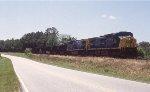 CSX 242-243 leading the NB coal train