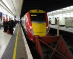 Gatwick Express at Victoria Station