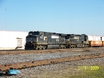 NS 9607 leads southbound train 183