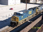 CSX 116 leads southbound