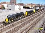 Z776 Watco train heads south