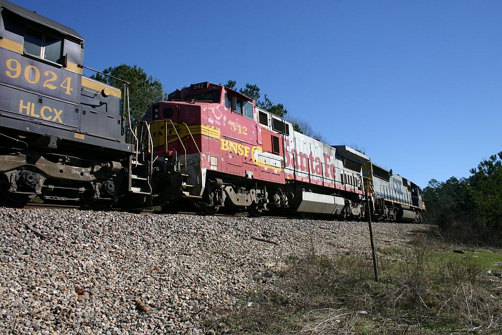 BNSF 542
