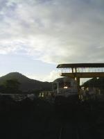 EFVM 745 parada no patio de Itaciba