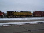 A Very Yellow BNSF 4434