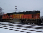 BNSF 9992 Is Showing Some Wear, Too