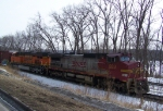 Westbound Manifest Train on the BNSF Aurora Sub