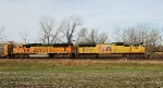 UP 5159 and BNSF 8944