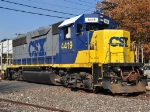 CSX 4419 switching cars in Highview Industrial Park - East Brunswick, NJ
