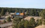 BNSF on the Santa Fe