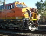 People coming in and out of BNSF 7499